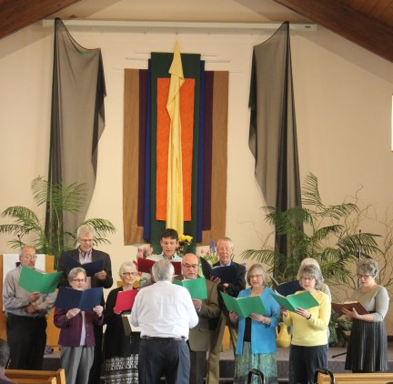 Choir at Easter