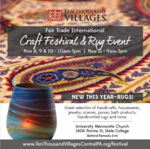 Craft Sale and Rug Event